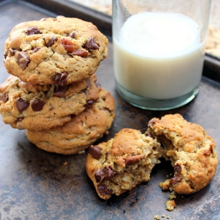 christinas ultimate double chocolate chip cookies with pecans