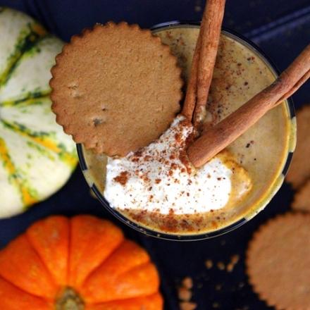 Gingersnap Pumpkin Cheesecake Shake   Small Kitchen Chronicles