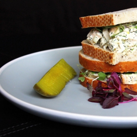 best dill chicken salad sandwich 2