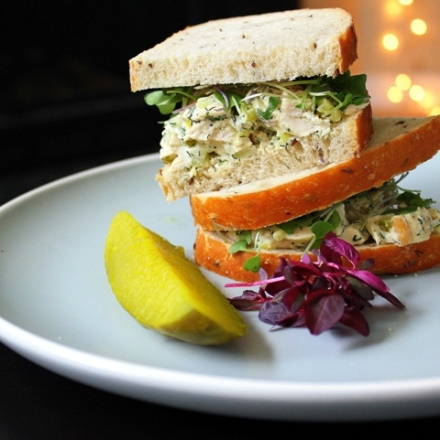 best dill chicken salad sandwiches