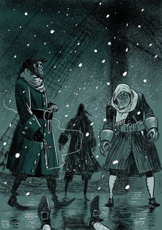 Image from TempestHole.Com -- Illustration by Teemu Matinlauri -- All Rights Reserved